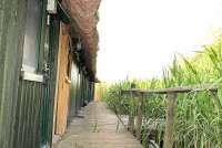 Bootshaus II in Basedow / Seedorf mit Grillplatz für Elektrogrill