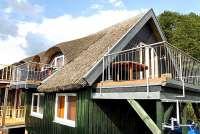 Bootshaus II in Basedow / Seedorf mit zwei Balkonen