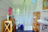 ferienwohnung familie witt in ulrichshusen bad mit dusche