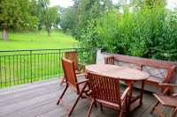 Ferienwohnung Terrassenhaus mit Alkoven in Tressow auf Gut Ulrichshusen
