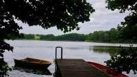 Ruderboot am Ulrichshusener See