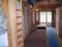 Bootshaus III in Damerow Schlafen