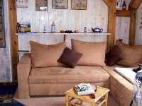 Bootshaus III in Damerow Couch und Aufbettung