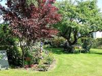 Ferienhaus Weinert in Groß Wokern Garten
