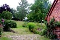 Ferienhaus Stolz (B) in Ulrichshusen Garten