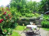 Garten auf der Südseite